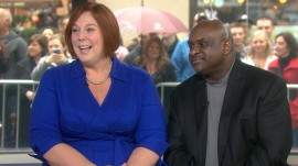 Meet the couple who found love on the TODAY plaza