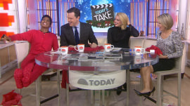 Jane Krakowski joins TODAY's Take - and comes bearing gifts!