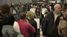 Flight cancellations and delays intensify due to winter weather woes
