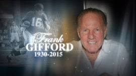 Kathie Lee pays tribute to late husband Frank Gifford