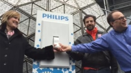 Times Square ball tested ahead of New Year's Eve