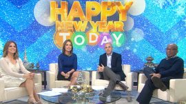 Fans ask TODAY anchors about their New Year's traditions