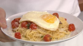 Pasta carbonara: Brandi Milloy cooks breakfast for dinner, for under $15