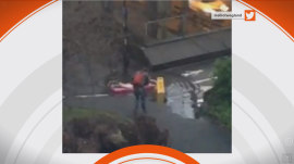 Puddle in UK makes a splash online with #DrummondPuddleWatch