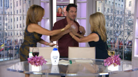 KLG and Hoda try to make Dean Cain smell like Ray Liotta