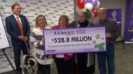 Behind the scenes with couple that announced lottery win on TODAY