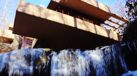 See hidden secrets of Frank Lloyd Wright's famed Fallingwater house