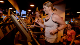 Jenna Bush Hager shows benefit of working out with friends - and her sister!