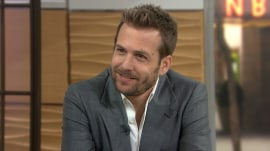 Find out why Gabriel Macht of 'Suits' does a spit take on TODAY