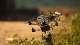 Drone racing is a new sport with sky high ambitions