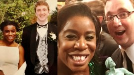 Uzo Aduba's high school prom date was her 'plus one' at SAG Awards