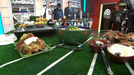 Super Bowl showdown: Burgers vs. barbecue!