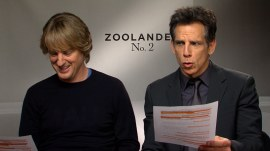 Ben Stiller and Owen Wilson recreate famous 'Titanic' scene