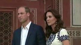 Prince William and Duchess Kate wrap up India trip at Taj Mahal