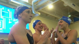Student allowed to compete in swim meet early to honor dying mother