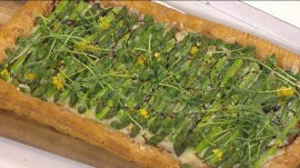 Asparagus gruyere tart: TODAY Food Club member shows how