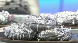 TODAY anchors try 'platinum' $150 donuts