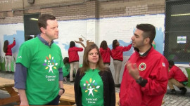 NBC celebrates volunteers with Comcast Cares Day