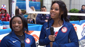 Gabby Douglas and Simone Biles on their roads to Rio and personal growth