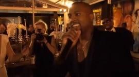 Kanye jokingly interrupts friend's wedding: 'Imma let you finish…'