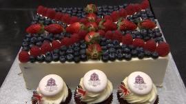 Celebrating Queen Elizabeth's birthday with her favorite custard dessert
