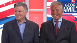 Treat Williams and George Hamilton talk playing politics