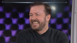 Ricky Gervais: I'm a workaholic between the hours of 10 and 4