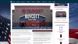 Thousands pledge to boycott Target over transgender bathroom policy