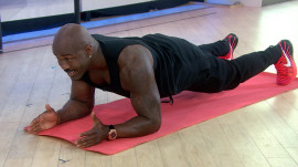 How to do a perfect plank: 'Biggest Loser' trainer Dolvett Quince shows how