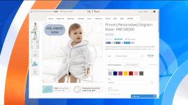 Prince George's adorable robe is sold out