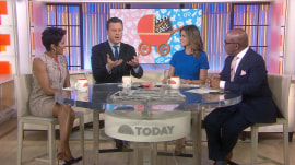 """Pushing """"plus one""""? TODAY anchors remember their delivery room dramas"""