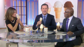 Carvel's Free Cone Day: TODAY anchors celebrate, honor Fudgie the Whale