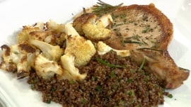 Pork chops with quinoa: Al Roker shows how to make it in 20 minutes