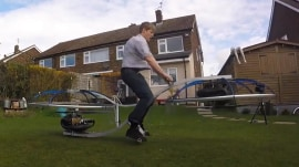 Introducing the homemade Hoverbike