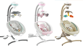 Fisher-Price is recalling 34,000 infant cradle swings