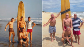 Vietnam vets recreate surfing picture from 50 years ago