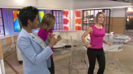 Running Man challenge: Watch Tamron, Natalie and Dylan bust a move