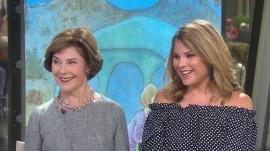 Laura Bush, Jenna Bush Hager share love for 'Our Great Big Backyard'