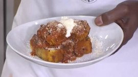 Make these delicious meatballs with charred tomato sauce