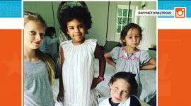 Beyonce's daughter Blue Ivy joins Gwyneth Paltrow's daughter's birthday bash