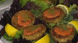 Vegan crab cake: YouTube star Jenne Claiborne makes it delicious
