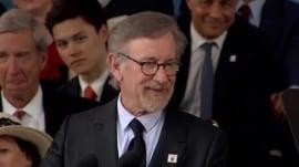 Steven Spielberg's advice to grads: Go home like E.T.!