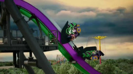 'Joker' roller coaster too intense! Six Flags makes adjustments