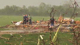 Massive tornado in Kansas: Residents tell of survival on second day of storms