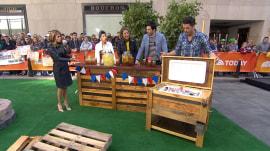 'Property Brothers' Drew and Jonathan Scott create a dream backyard