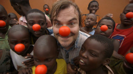 Jack Black, Red Nose Day team up to fight poverty, follow up with kids in Uganda