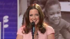 Broadway star Jennifer Simard sings 'Your Endless Love'