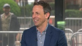 Seth Meyers on night terrors, changing diapers, his rap group, 'Late Night'
