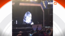 Adele stops her performance to admonish filming fan