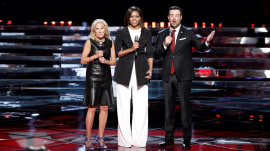 Michelle Obama, Dr. Jill Biden visit 'The Voice'